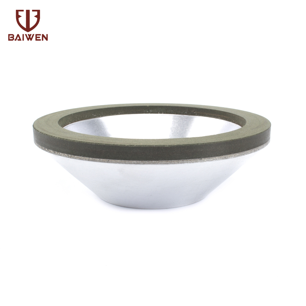 100mm Diamond Grinding Wheel Cup For Tungsten Steel Milling Cutter Tool Sharpener Grinder Accessories 150/240 Grit