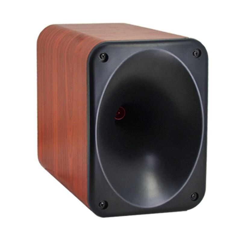 LEORY Tweeter haut-parleur gamme complète HiFi bois haut-parleur pour 3 voies maison barre de son caisson de basses haut-parleurs