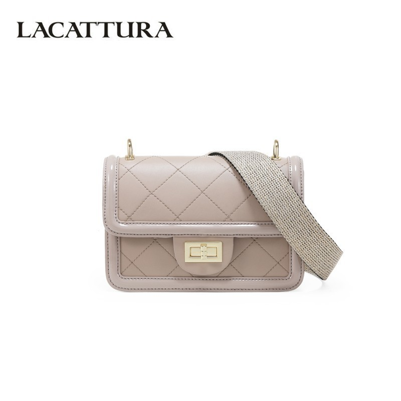 LACATTURA Women Fashion Small Handbag New 2019 Designer Plaid Flap Shoulder Bag Crossbody for Ladies Luxury Messenger BagLACATTURA Women Fashion Small Handbag New 2019 Designer Plaid Flap Shoulder Bag Crossbody for Ladies Luxury Messenger Bag