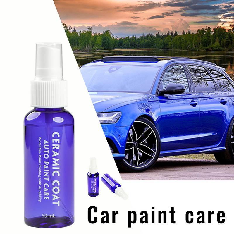 Car Crystal Coating Agent Car Paint Care Ceramic Coat Paint Protective Foil Scratch Resistance Motorcycle Car Paint Protector