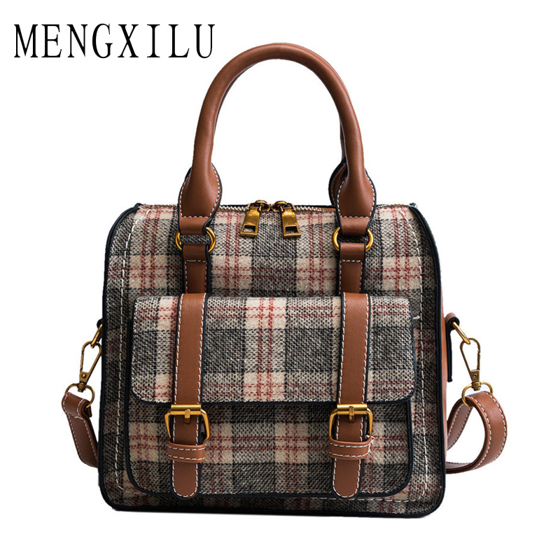 Fashion Patchwork Women Crossbody Bags High Quality PU Leather Women Shoulder Bag Hit Color Ladies Messenger Bags Small Sac New brand fashion women bag female chain shoulder crossbody bags ladies split leather geometric pattern hit color messenger bags sac