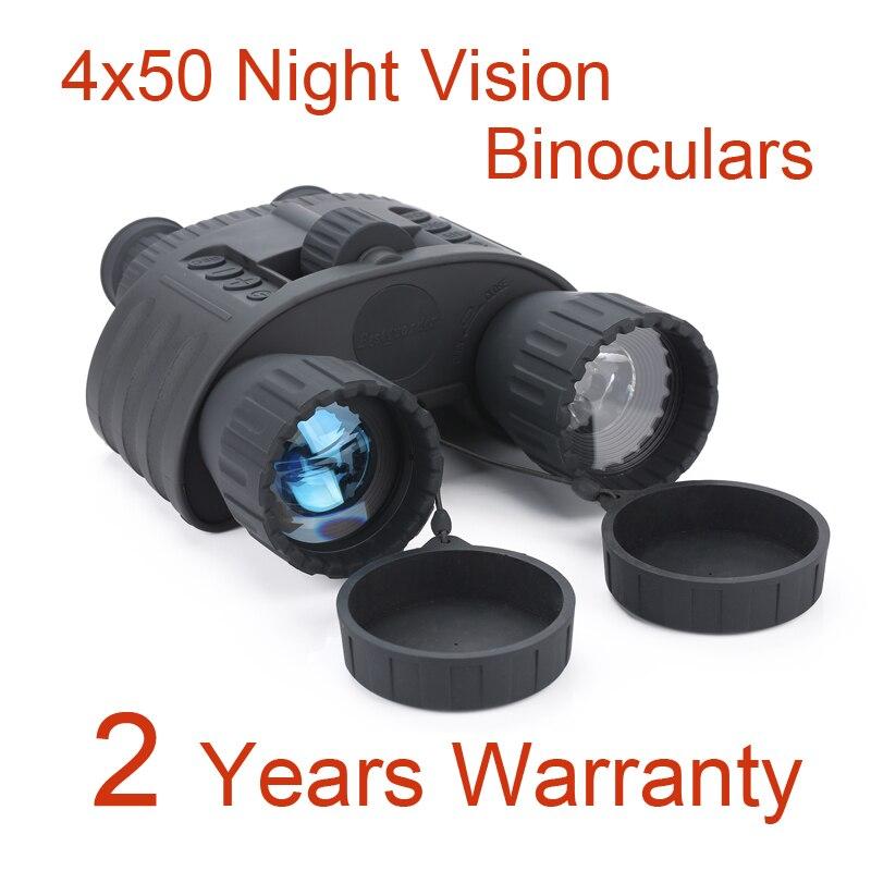 300 M Gamma di Notte di Caccia Binocolo 4x50 di Visione Notturna Digitale Scope Portata NV 5mp Photo 720 p Video di Visione Notturna Ottica