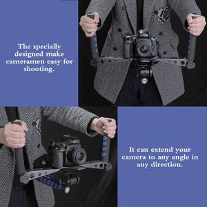Image 5 - DSLR Rig Movie Kit Universal multifuncional Handheld Gimbal DSLR sistema de cine estabilizador con soporte para cámara