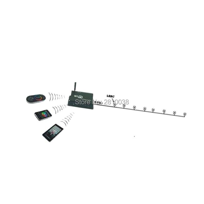 2 pçs/lote DC 5 24V SPI SPI levou controlador sem fio controlador de Wi fi levou controlador SPI para led digital luzes de tira - 3