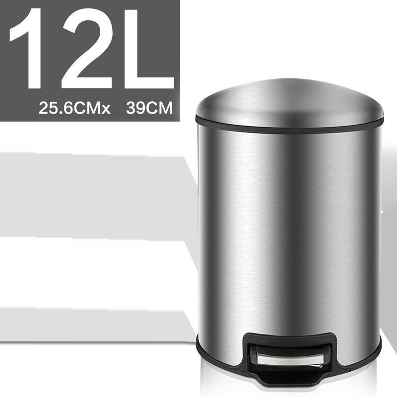 Kitchen Prullenbak Cubo Papelera Garbage Holder Basura Cocina Kosz Na Smieci Dust Pedal Poubelle Lixeira Dustbin Trash Bin in Waste Bins from Home Garden