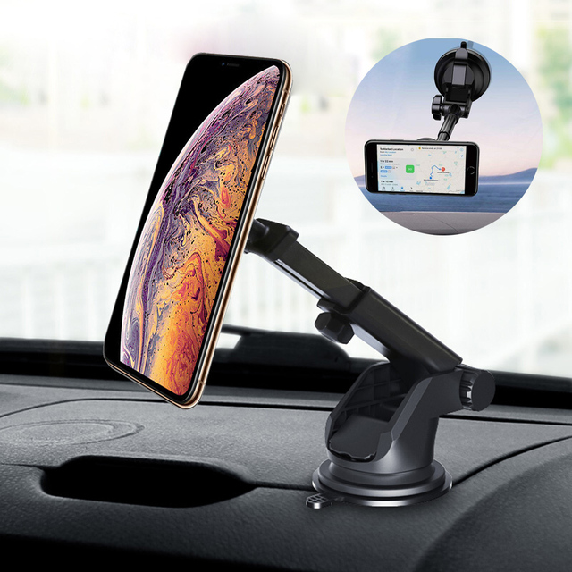 Mayround Magnetic Car Mount Holder Windshield Dashboard Suction Mount For Cell Phone GPS For iPhone XS Max XR Sumsang S8 S9 Plus