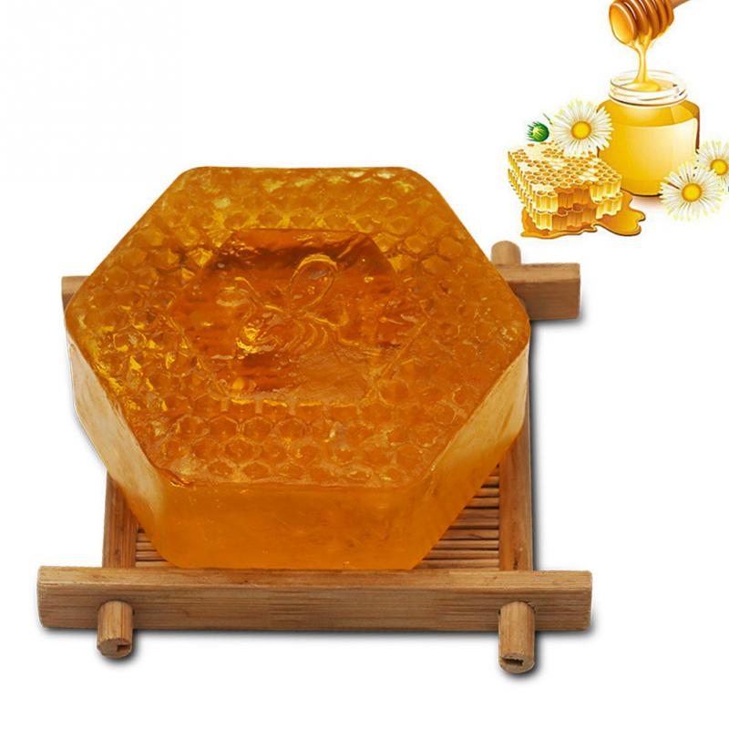 Essential Oil Moisturizing Smell Deep Cleansing Honey Smell Soap Spa Handmade Soap Cleaning Dirt Anti Aging Skin Care #518 image