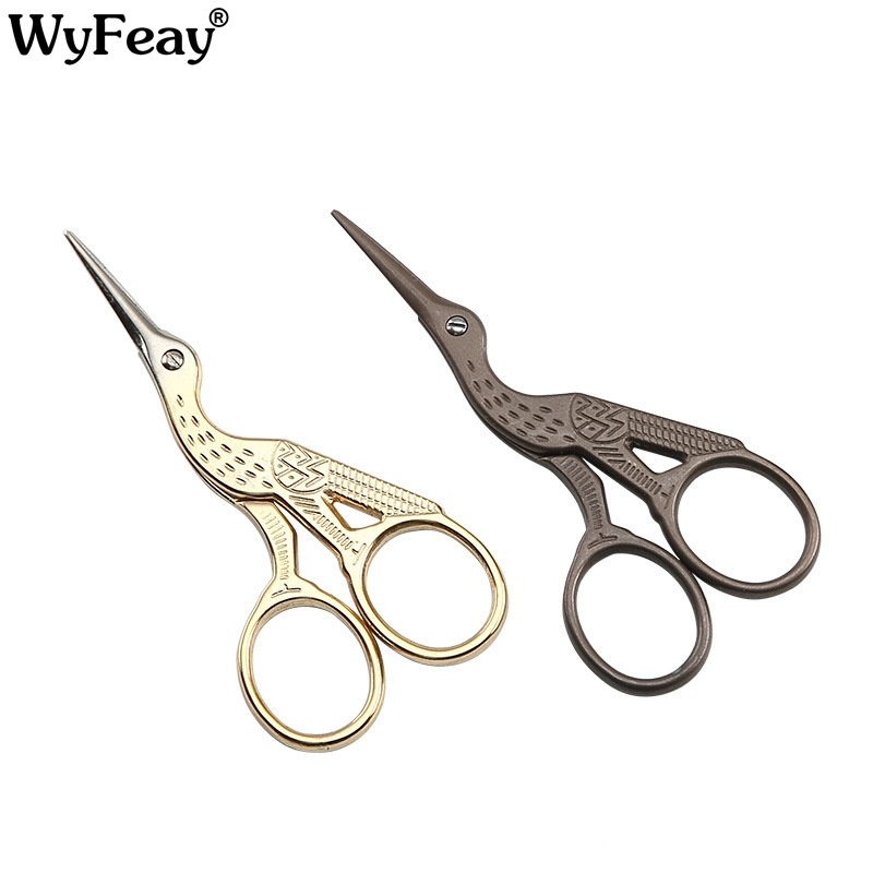 1pc Cloud Towel Pattern Dressmaker Shears Scissors Antique Scissors Fabric Craft European Vintage Sewing Scissors High Quality Office & School Supplies Scissors