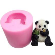 Инструменты для украшения тортов из мастики, форма для торта, шоколада, 3D панда, предметы интерьера, форма для жевательной пасты, формы для свечей, форма для выпечки, инструмент