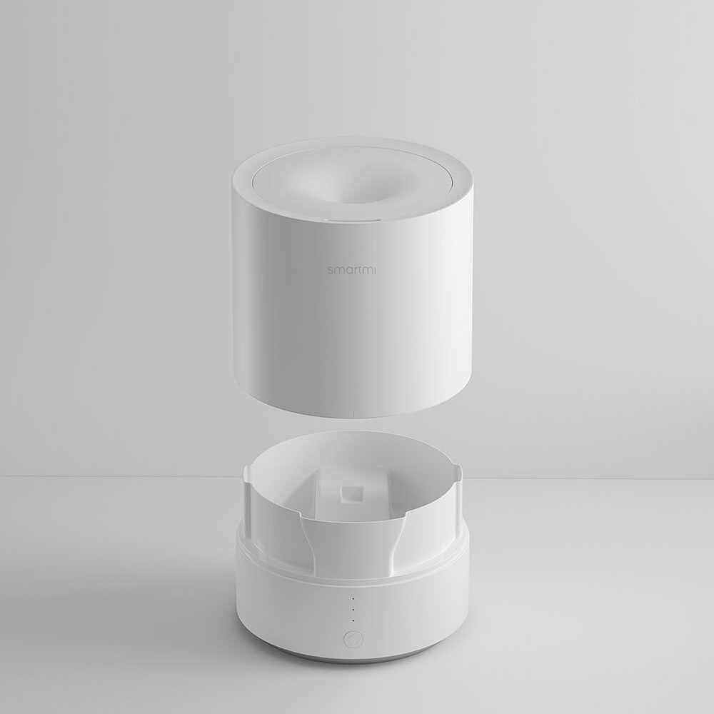 Xiaomi Smartmi Новый 2.25L увлажнитель воздуха эффективный ароматерапия воздушный демпфер эфирное масло диффузор теплый туман тихая работа