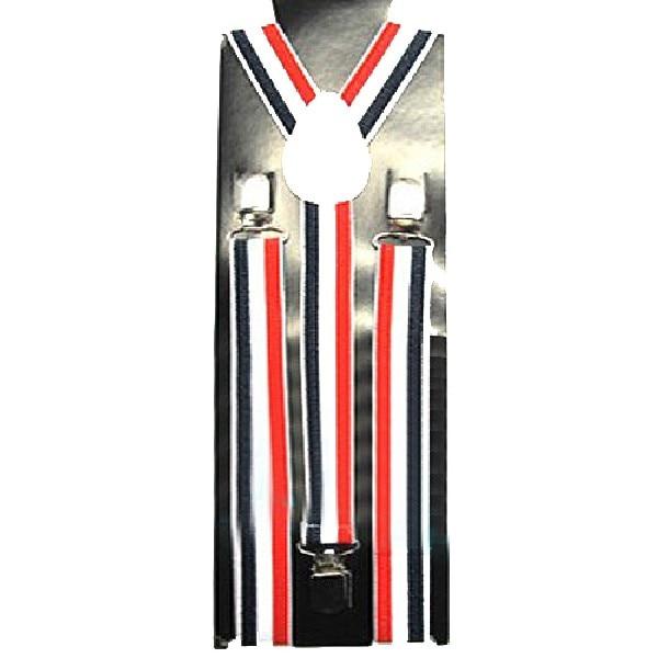 2.5cm*100cm Mens Womens Unisex Clip-on Suspenders Elastic Y-Shape Adjustable Strap Dress Accessories Strap Apparel Hot