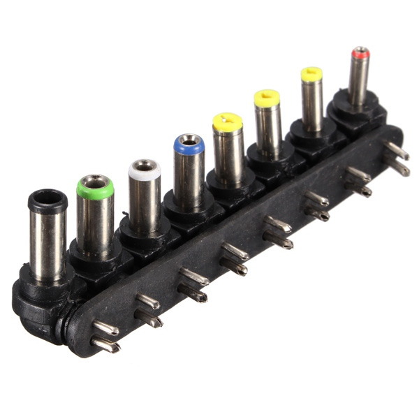 1 Stücke 8 In 1 Universal Für Ac Für Dc 2 Pin Power Ladegerät Adapter Tipps Für Laptop Notebook Pc Hohe Kompatibel