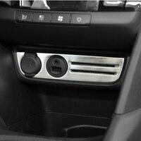 Tay Yanan Paslanmaz çelik Çakmak Dekoratif Çıkartmalar Araba Koruma Trim Sticker Peugeot 2008 2013-2017 için