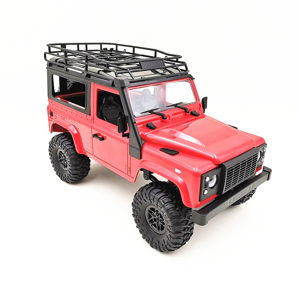 Mn 90 1/12 2.4G 4Wd 15Km/H Rc Car With Front Led Light 2 Body Shell Rock Crawler Truck Rtr Toy Christmas Gift Kids Boys-in RC Cars from Toys & Hobbies    3
