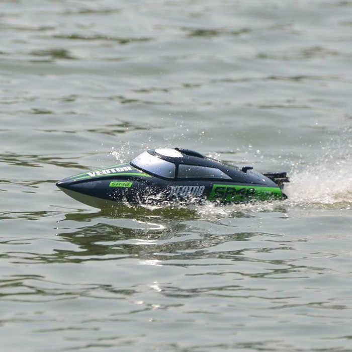 VOLANTEXRC 795-3 Водонепроницаемая RC лодка на дистанционном управлении 45 км/ч высокоскоростная гоночная лодка Наружная игрушка летняя водная игрушка скоростной катер р/у для детей