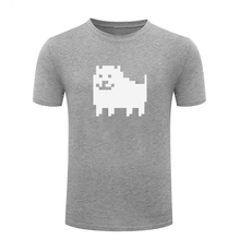 T Shirt Game Tshirt Men T-shirt Streetwear Plus Size Graphic HOT Fashion Shirts Undertale Annoying Dog XS-3XL