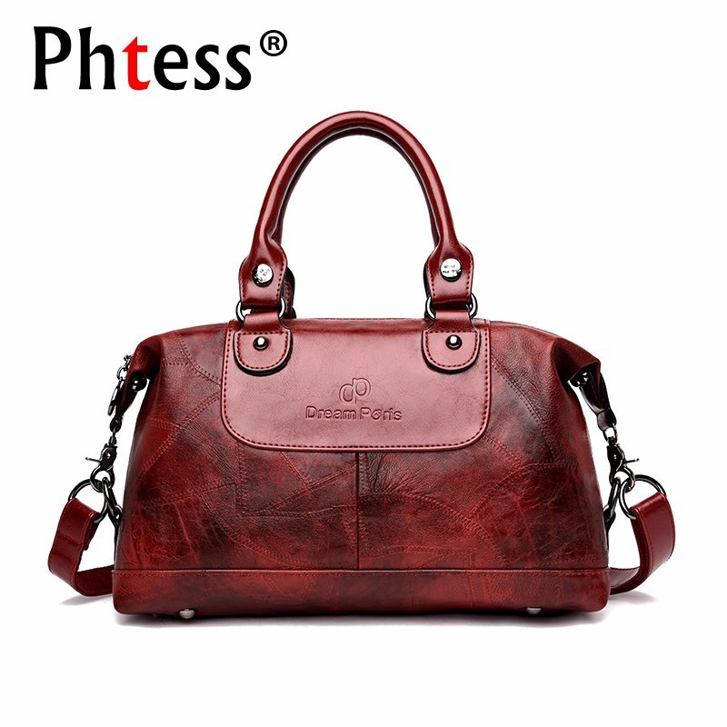 2018 Handbags Women Famous Brand Women Messenger Bag Ladies Hand Bag Vintage Hand Bags Ladies Solid Vintage Ladies Hand Bags New