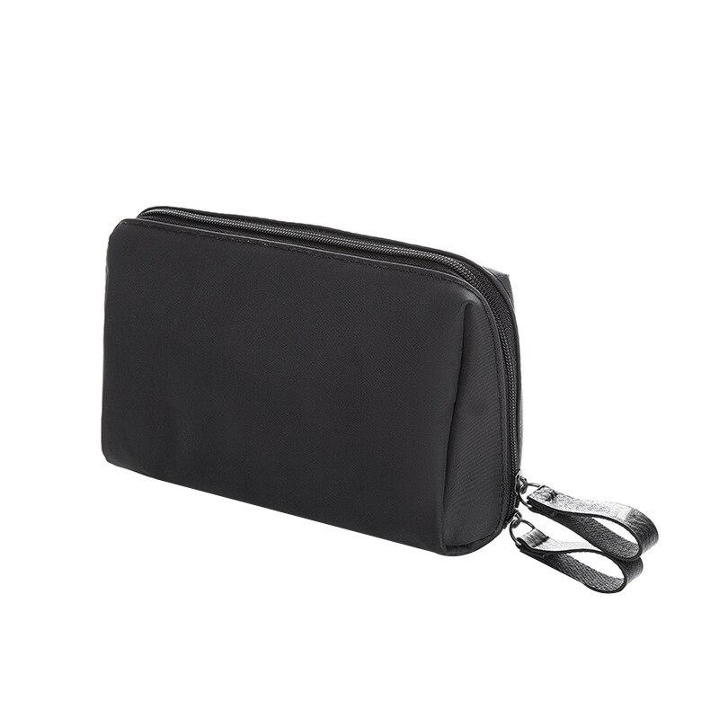 1 Pc Korean Style Solid Cosmetic Bag Women Bow Tie Makeup Bag Waterproof Travel Wash Bag