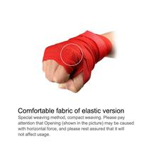 2.5m Cotton Elastic Professional Handwraps For Boxing Kickboxing Muay Bandage With Hook And Loop Design Freely Adjusted New