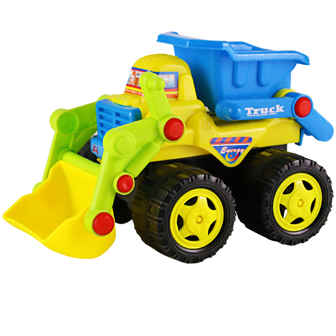 Small Baby Toy Inertia Construction Vehicle Inertia Beach Bulldozer Model Children Playing Beach Sand Tools Toy For Children
