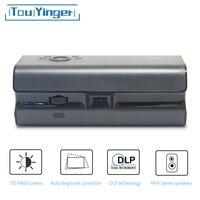 Touyinger K1 небольшой карманный проектор 150 ANSI люмен Android Wi-Fi портативный смартфон Bluetooth HDMI домашнего кинотеатра проектор