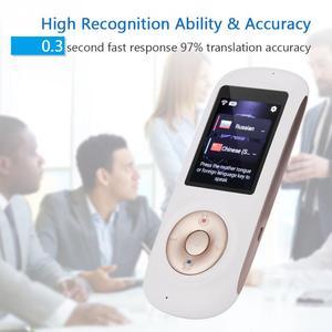 Image 2 - Traducteur vocal 52 langues traducteur didiomes en tiempo réel Wifi hotspot traduction bidirectionnelle intelligente Fota traducteur de mise à niveau