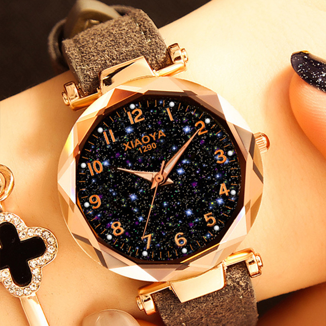 Relogio Feminino Women Bracelet Watches Fashion Female Quartz Watches Rose Gold