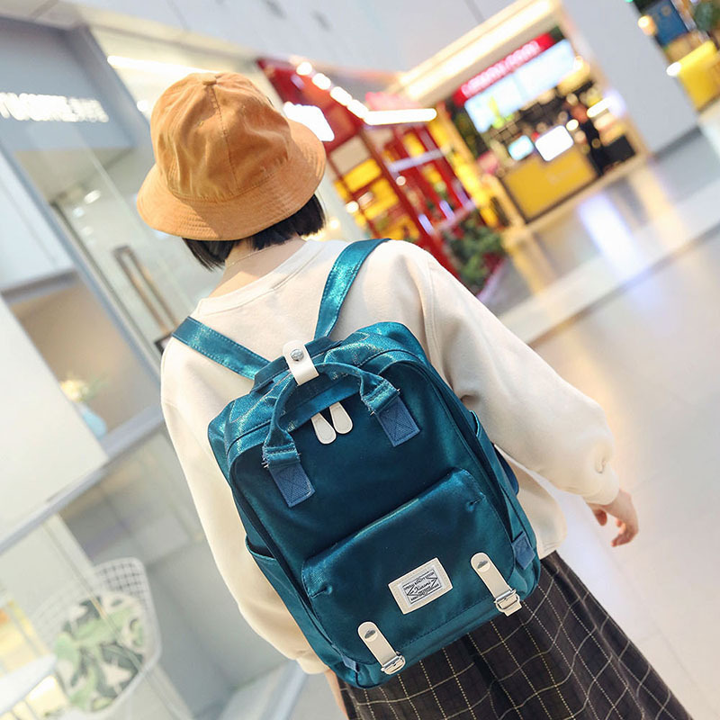 Brand Women Backpack Bag College Casual School Canvas Backpack Travel Bag 15 6 Laptop Backpacks Mochila Knapsack Bagpack Plecak in Backpacks from Luggage Bags