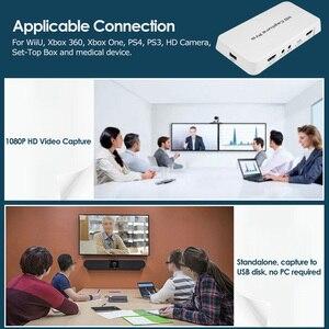 Image 5 - Ezcap 295 Quay Video HD 1080P USB 2.0 Phát Lại Đánh Chiếm Thẻ W/Điều Khiển Từ Xa Phần Cứng H.264 Mã Hóa Cho xbox One PS4