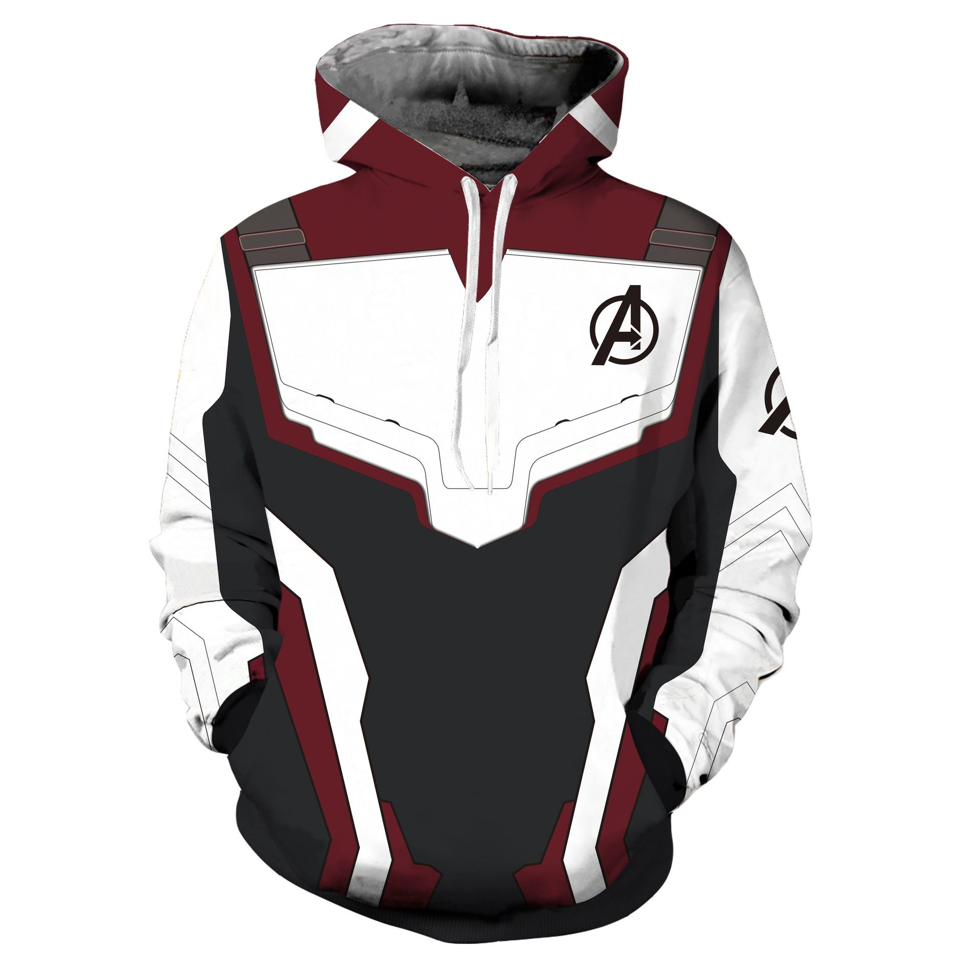 Avengers Endgame Quantum Realm 3D Printed Hoodie Sweatshirt Men Women Zipper Jacket Superhero Iron Man Cosplay Hooded Pullover