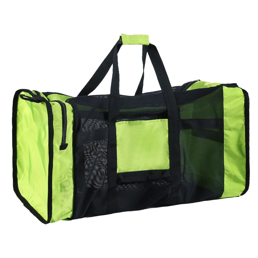 76dc0391cc 100L Diving Bag Waterproof Swimming Bags Mesh Duffle Diving Gear Bag for Scuba  Snorkeling Swimming Beach