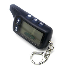 Tomahawk TZ9010 LCD Remote Controller Keychain,TZ-9010 Key Chain Fob for Vehicle Security