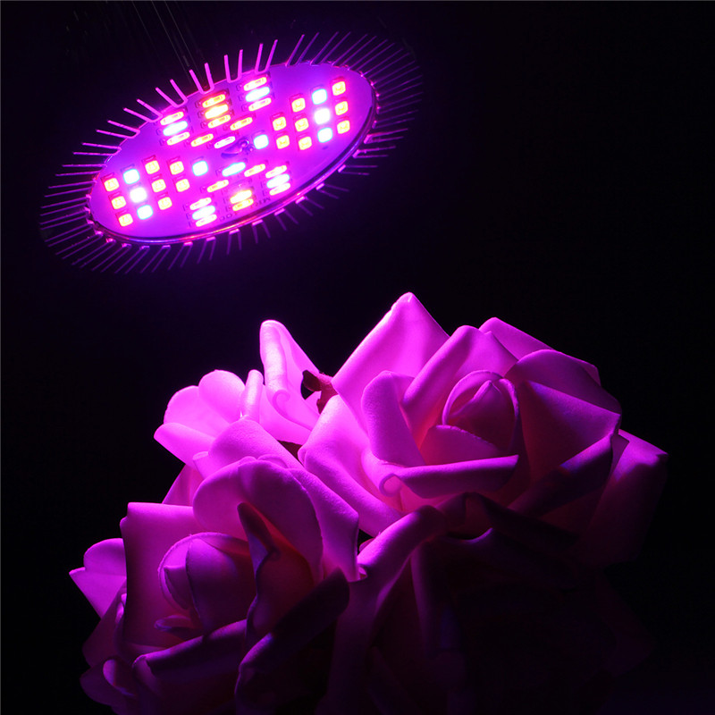 Bright Newest Full Spectrum Led Grow Light 15w Red Blue Uv Ir Led Growing Lamp For Hydroponics Flowers Plants Vegetables
