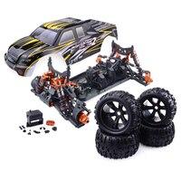 DIY ZD Racing 9116 V3 Monster Truck 1/8 Full Scale Tiny Real Racing Car Alloy 6061 DIY Frame Kit Version