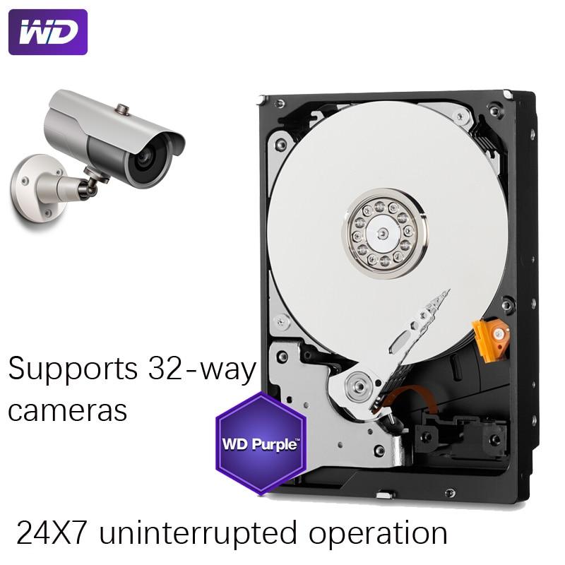 "WD PURPLE Surveillance 1TB Hard Drive Disk SATA III 64M 3.5"" HDD HD Harddisk For Security System Video Recorder DVR NVR CCTV 3"