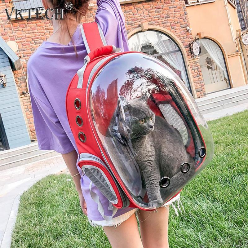 Image 2 - Breathable Pet Carrier Bag Portable Cat Dog Bag Basket Portable Outdoor Travel Backpack Pets Carrying Cage Pet SuppliesDog Carriers   -