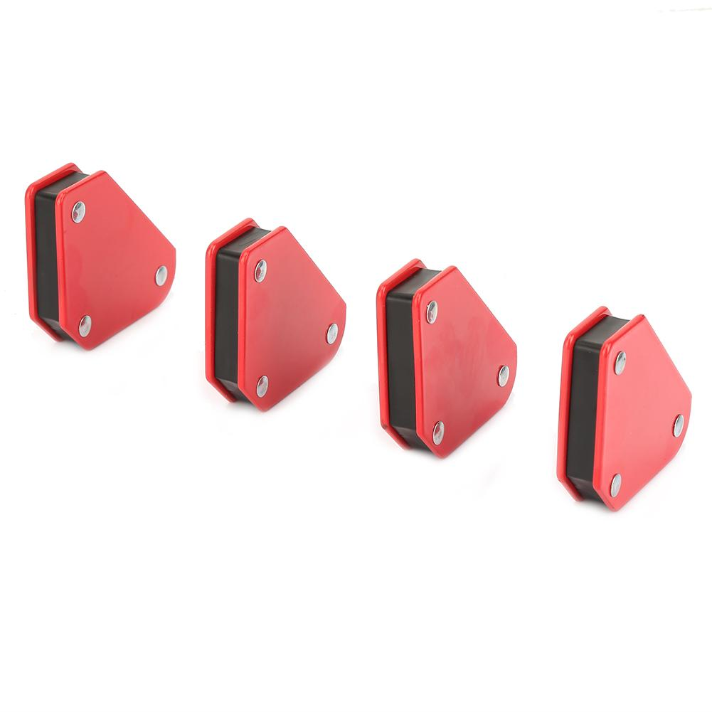 Image 3 - 4pcs 9LB welding magnet Angle Soldering Locator Magnetic Magnet Corner Arrows Welder Welding Holder Tool-in Magnetic Materials from Home Improvement