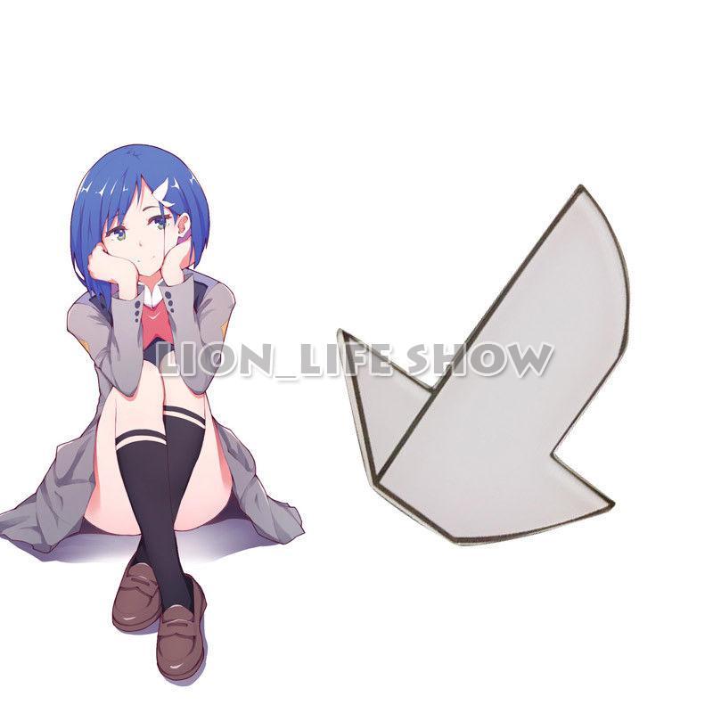 Darling In The FRANXX CODE: 015 Ichigo Hairpin Hair Clip Cosplay Accessory Prop 1pc