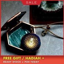 AURAREIKI Orgonite Pendant Handmade Custom Lapis Natural Crystal Energy Converter Reiki Charm Jewelry For Women