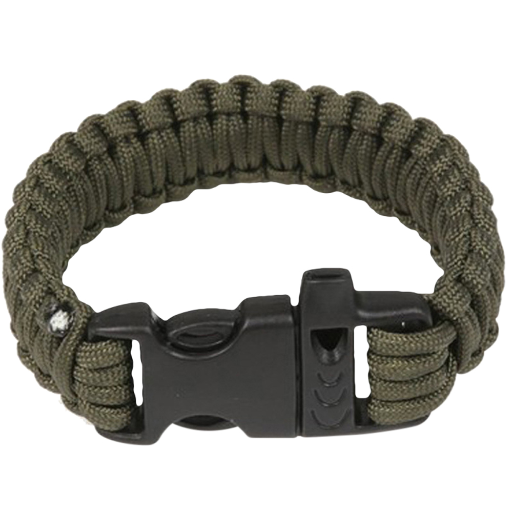 Outdoor Small Gadgets Camping Men Self-Rescue Paracord Parachute  Bracelets Emergency Survival Rope Whistle Scraper Buckle