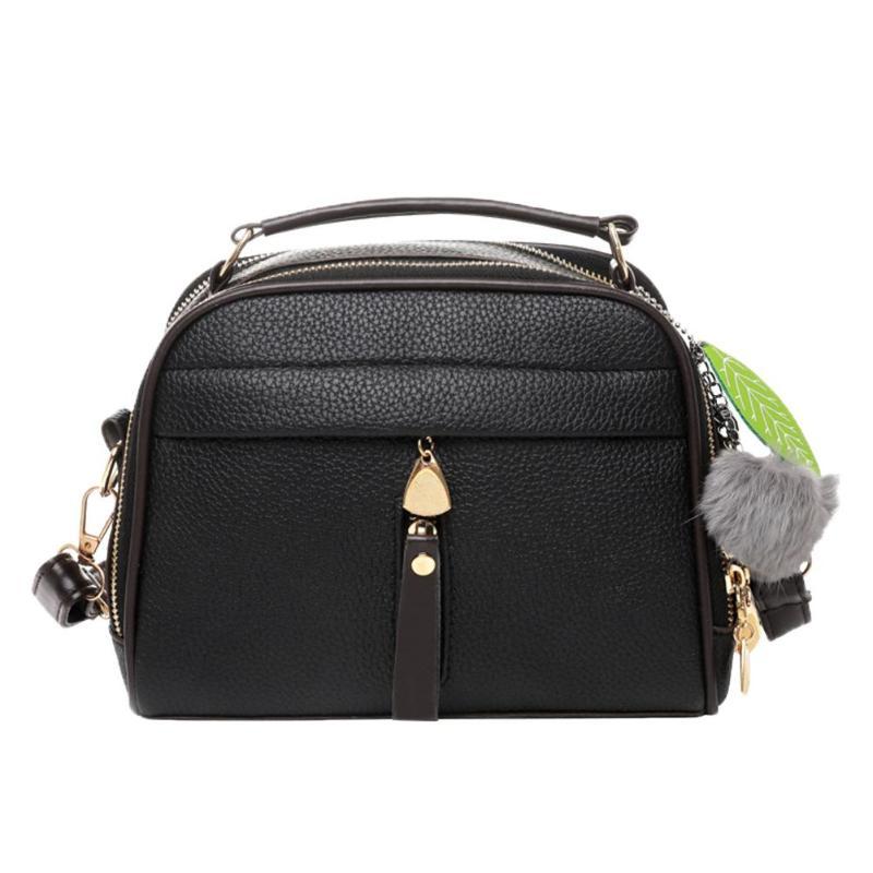Nachdenklich Frauen Umhängetasche Messenger Schulter Tasche Pu Leder Blatt Satchel Sling Taschen Moderater Preis Bauchtaschen Gepäck & Taschen