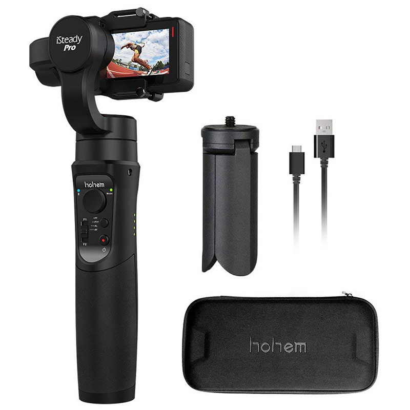 Hohem ISteady Pro 3-Axis Handheld Gimbal Stabilizer For Sports Cameras Action CameraHohem ISteady Pro 3-Axis Handheld Gimbal Stabilizer For Sports Cameras Action Camera