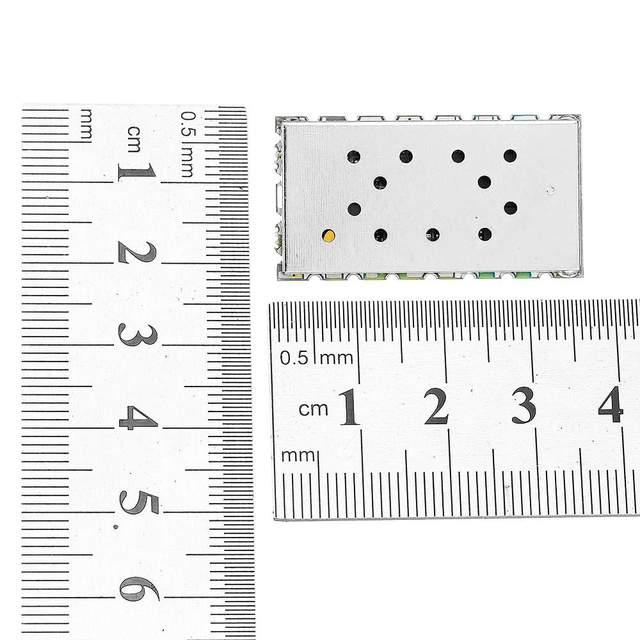 2 ピース/ロット 1 ワット 3.5 キロ 5 キロ RDA1846S チップ内蔵 1 ワットの UHF VHF トランシーバーモジュール  SA818 チップ 134 174 MHz walky トーキーモジュール