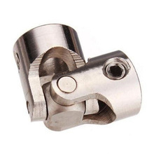 1pcs Metal Universal Joint Brushless Shaft Coupling For RC Car Boat Toy 6 Sizes