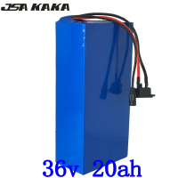 36v 20ah electric bicycle battery 36V 20AH Lithium ion battery with 30A BMS and 42V 2A charger for 36V 500W 1000W bafang motor