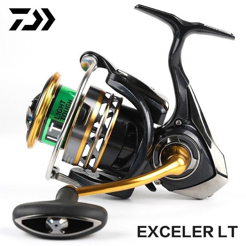 Daiwa Exceler Lt BAIXO HIGT 1000D-XH 2000D-XH 2500-XH 3000-CXH 4000D-CXH 5000D-CXH 6000D-H Spinning Carretel De Pesca