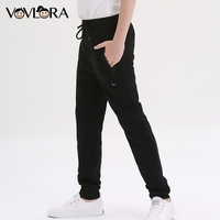 Autumn Boys Pants Sports Cotton Kids Pants Trousers Pencil Children Trousers With Drawstring Size 7 8 9 10 11 12 13 14 Years