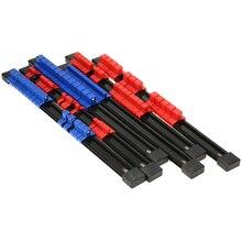 6pcs Multi-purpose Mountable Sliding Socket Storage Rail Rack Holder Organizer 1/4 3/8 1/2 Drive With 32/30/24 Clips