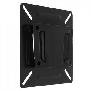 2018 Black Universal TV Wall Mount Mounts Bracket for 14 to 24 Inch LCD LED Monitor Flat Panel TV Frame High Quality(China)