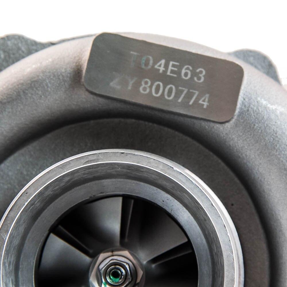 T04e t3/t4 a/r.57 73 guarnição 400 + hp fase iii turbo carregador + alimentação de óleo + linha de drenagem kit para scion tc xb xa xd paseo - 5